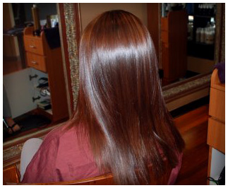 Brazilian Blowout After At LL Hair Studio Salon In Houston TX 77095 BEFORE